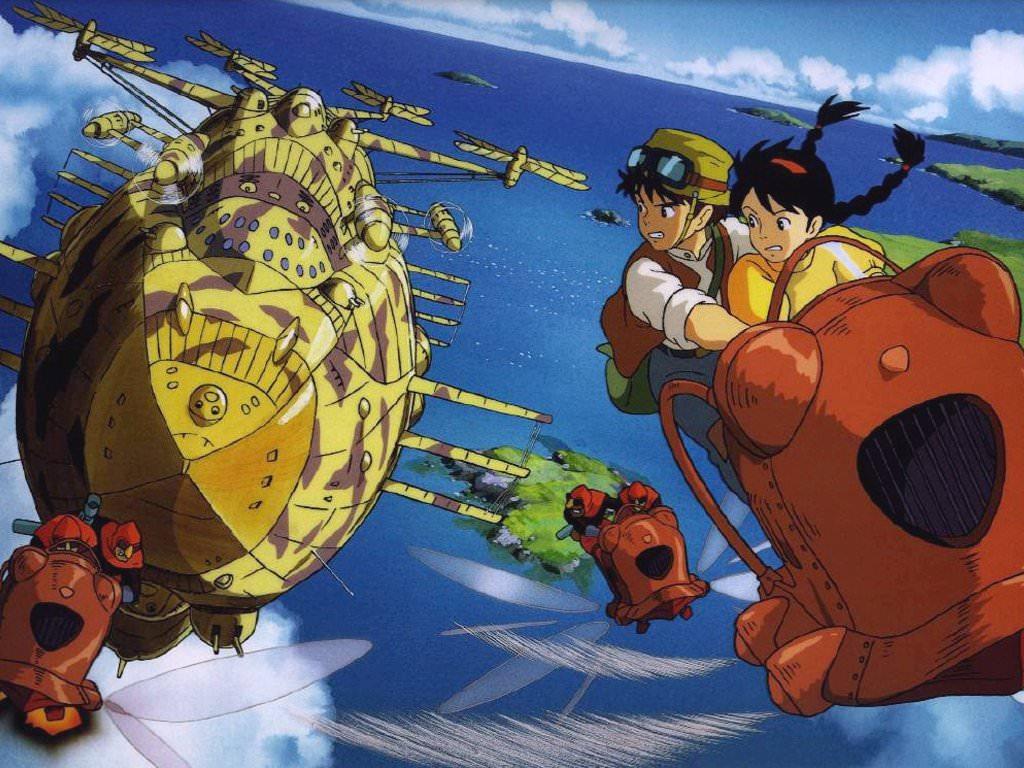 エンタメの雑学 天空の城ラピュタにトトロが隠れている Gakusha