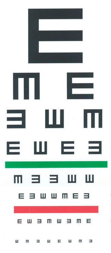 視力検査で使われるCのマークの正式名称