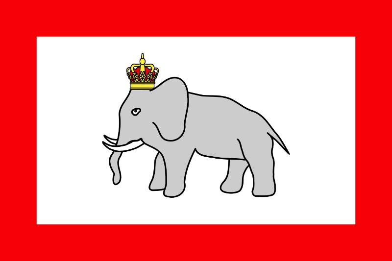ダホメ王国のウソのような国旗