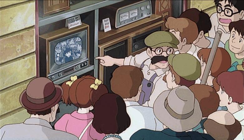 『魔女の宅急便』に宮崎駿が出演している