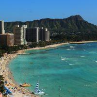 ワイキキビーチは世界で最も有名な人工の砂浜